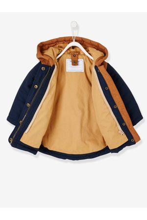 Vertbaudet Parka 3 en 1 para bebé niño con chaqueta de punto desmontable oscuro liso