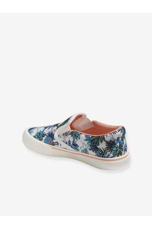 Vertbaudet Zapatillas slip-on para niña medio estampado