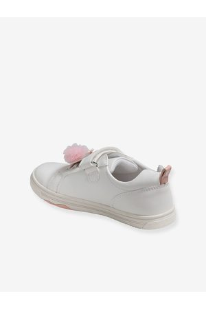 Vertbaudet Zapatillas fantasía para niña, especial autonomía claro liso