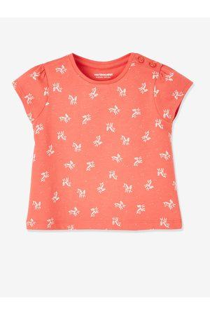 Vertbaudet Lote de 2 camisetas bebé niña de manga corta con motivo frutas medio bicolor/multicolo