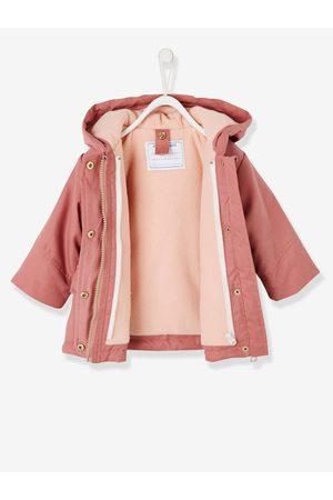 Vertbaudet Parka 3 en 1 para bebé niña con chaqueta desmontable medio liso