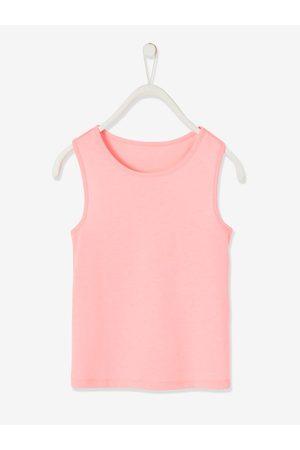 Vertbaudet Conjunto deportivo de camiseta y leggings 2 en 1, para niña oscuro liso
