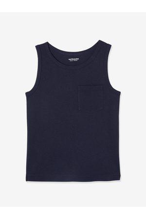 Vertbaudet Lote de 2 camisetas de tirantes con motivo surf y rayas para niño claro bicolor/multicolo
