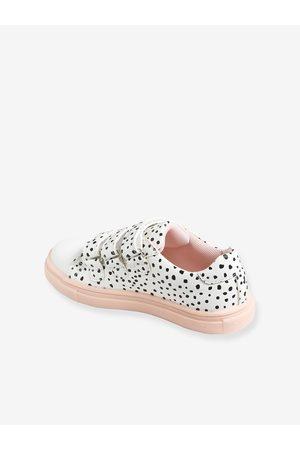 Vertbaudet Zapatillas con tiras autoadherentes, para niña medio estampado