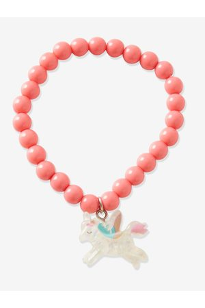 Vertbaudet Conjunto de collar, pulsera y anillo Unicornio, para niña medio bicolor/