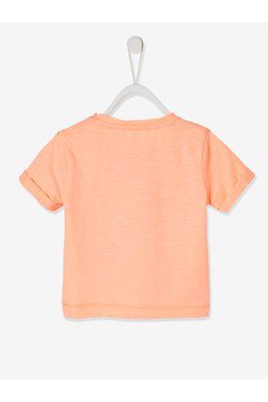 "Vertbaudet Camiseta de manga corta ""Ride the wave"" para bebé fuerte liso con motivo"