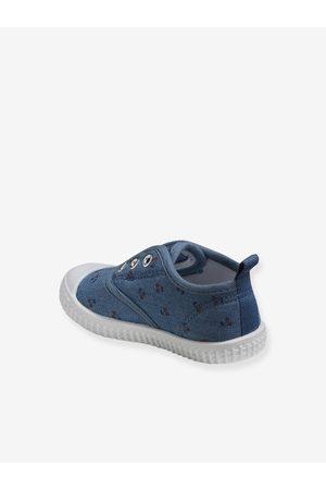 Vertbaudet Zapatillas deportivas niña de lona claro estampado