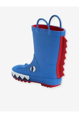 Vertbaudet Botas de agua Dinosaurio para niño, especial autonomía medio liso con motivos