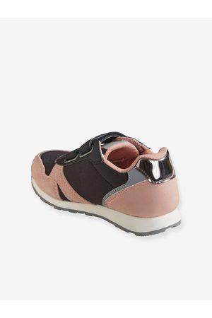 Vertbaudet Zapatillas estilo running con tiras autoadherentes para niña medio liso