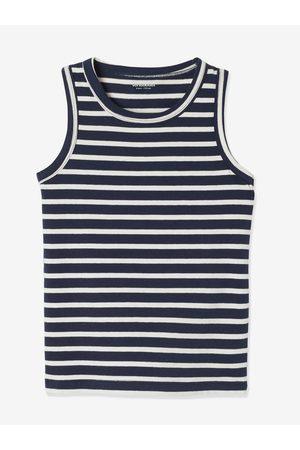 Vertbaudet Lote de 2 camisetas de tirantes stretch Playtime para niño claro bicolor/multicolo