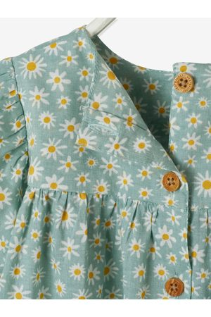 Vertbaudet Blusa de manga corta estampada, para bebé medio estampado