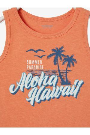 Vertbaudet Camiseta de tirantes con motivo surf, para niño medio liso con motivos