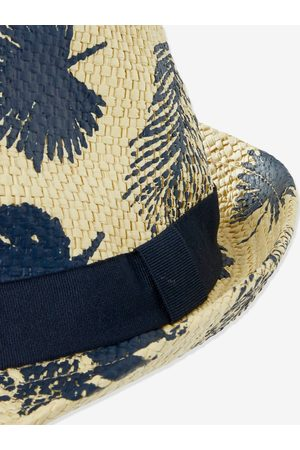 Vertbaudet Sombrero panamá con palmeras para niño medio estampado