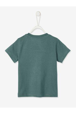 Vertbaudet Camiseta colorblock de manga corta para bebé oscuro liso