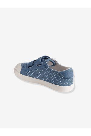 Vertbaudet Zapatillas deportivas niña de lona con tiras autoadherentes claro estampado