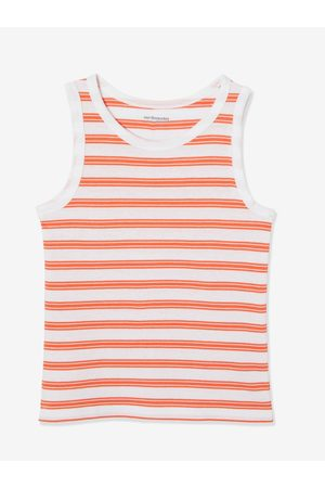 Vertbaudet Lote de 2 camisetas de tirantes con motivo surf y rayas para niño oscuro bicolor/