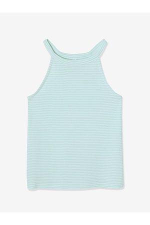 Vertbaudet Lote de 2 camisetas de tirantes surtidas de punto de canalé, para niña claro bicolor/multicolo