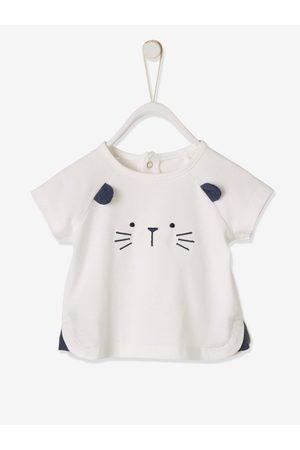 Vertbaudet Conjunto para recién nacido de camiseta y short de ceremonia, para bebé oscuro liso con motivos