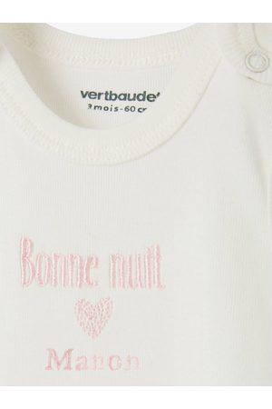 Vertbaudet Conjunto para recién nacido personalizable con 6 prendas y bolso
