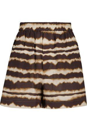 Nanushka Shorts Madrid de algodón