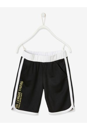 Vertbaudet Conjunto de deporte camiseta sin mangas + short, para niño oscuro liso con motivos