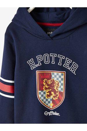 Harry Potter Sudadera con capucha ® de felpa oscuro jaspeado