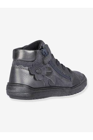Geox Zapatillas con forro Mid Hadriel Girl A ® oscuro liso con motivos