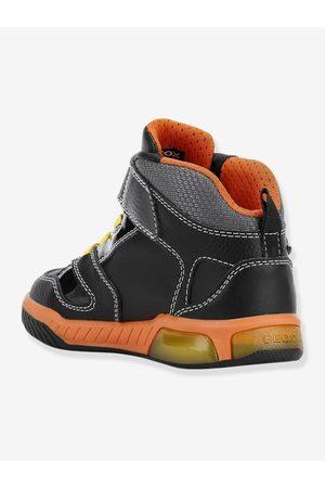 Geox Zapatillas Mid J Inek Boy C ® oscuro liso con motivos