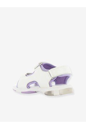REINE DES NEIGES Sandalias con suela luminosa Frozen 2 claro liso con motivos