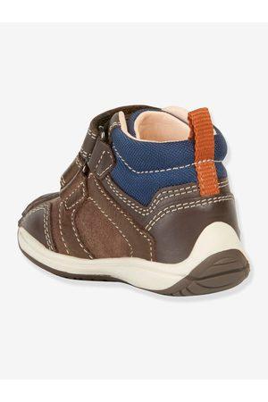 Geox Zapatillas Mid bebé Toledo Boy B ® marron oscuro liso con motivos