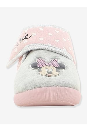 Minnie Zapatillas patucos con cierre autoadherente de dos colores ® claro liso con motivos