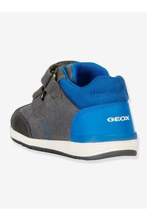 Geox Zapatillas Mid bebé Rishon Boy B ® oscuro liso con motivos