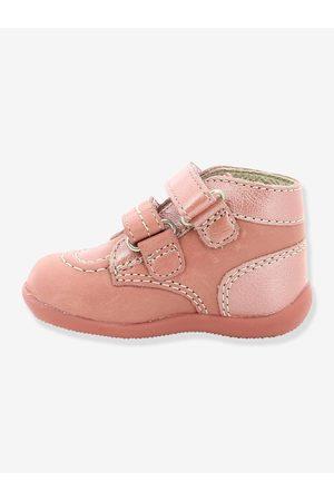 Kickers Botines de piel para bebé Bonkro ® primeros pasos claro liso