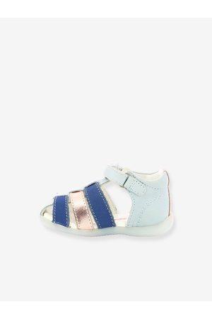 Kickers Sandalias de piel para bebé Bigflo 2 ® claro liso