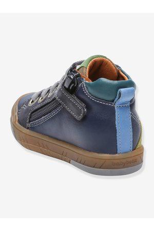 Babybotte Botines sneakers de piel para bebé Artistreet ® oscuro liso