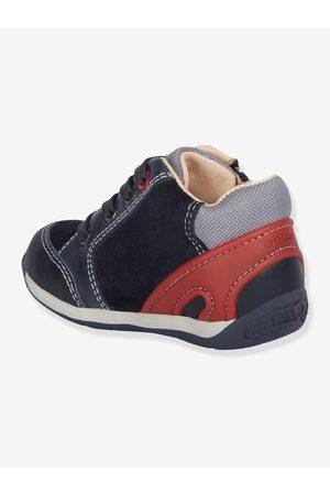 Geox Zapatillas Mid bebé Each Boy B ® oscuro liso con motivos