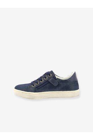 Kickers Zapatillas sneakers de piel Lykool ® oscuro liso