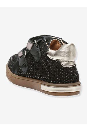 Babybotte Botines sneakers de piel para bebé Azaliss ® oscuro liso