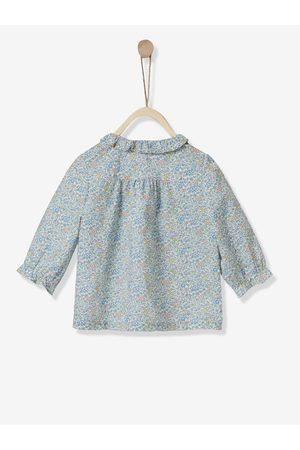 CYRILLUS Camisa de tejido Liberty para bebé claro estampado