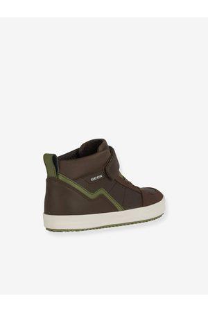 Geox Zapatillas de caña alta Alonisso Boy ® marron medio liso
