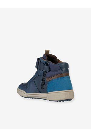 Geox Zapatillas de caña alta Poseido Boy ® oscuro liso con motivos