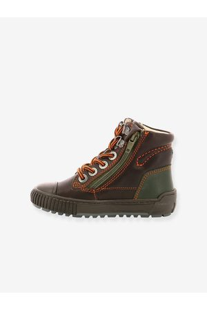 Kickers Zapatillas sneakers Pirlzip ® marron oscuro liso con motivos