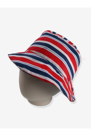 Archimede Sombrero bob reversible oscuro a rayas