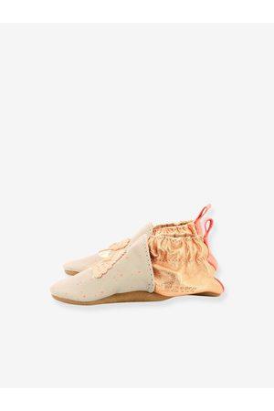 Robeez Zapatillas patucos de piel ligera para bebé Pink Hedgehog © claro liso con motivos