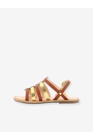 Kickers Sandalias de piel Dixon ® marron claro liso
