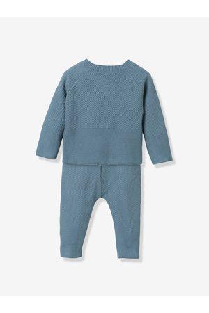 CYRILLUS Conjunto de 3 prendas de algodón orgánico para bebé medio grisaceo