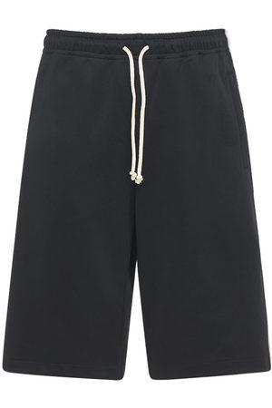 Gucci | Hombre Shorts Deportivos De Jersey Técnico Con Bandas Xs