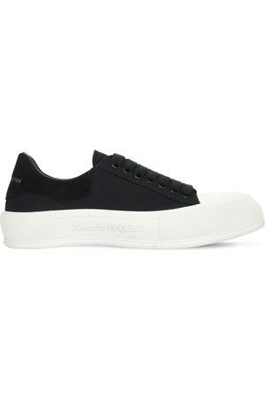 Alexander McQueen Hombre Zapatillas deportivas - | Hombre Sneakers De Lona /blanco 39