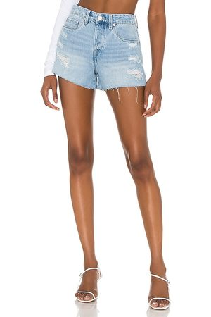BLANK NYC Shorts denim barrow en color denim claro talla 24 en - Denim-Light. Talla 24 (también en 26, 25, 27, 28, 29, 30, 31).