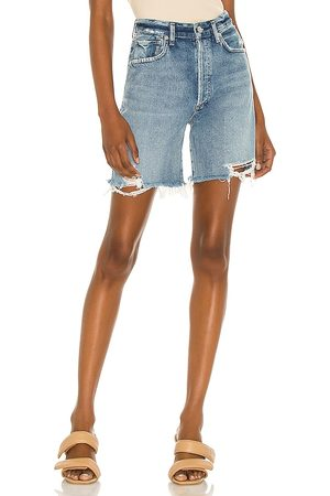 Citizens of Humanity Mujer Vaqueros - Short vaquero camilla en color azul talla 23 en - Blue. Talla 23 (también en 24, 25, 26, 27, 28, 29, 3